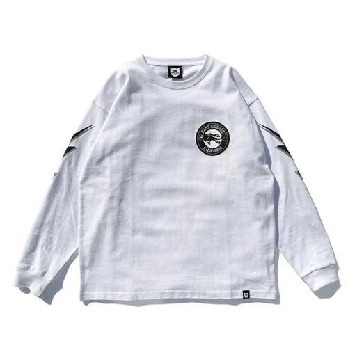 BB CA BONE L/S TEE - WHITE -