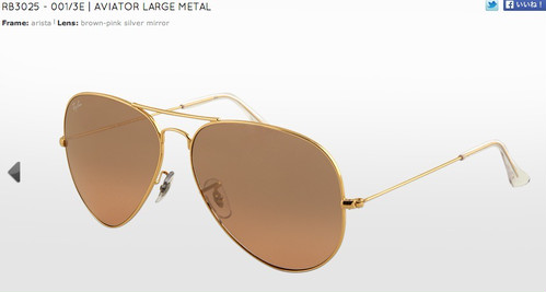RB3025 AVIATOR LARGE METAL(アビエイター)