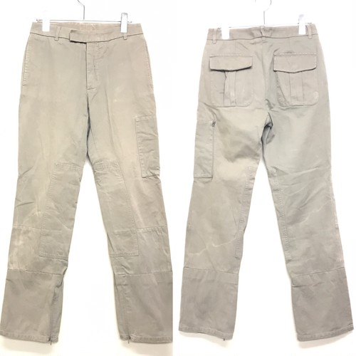 AW1999 HELMUT LANG DOUBLE KNEE CARGO PANTS