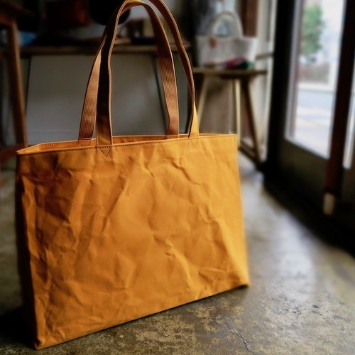 Water proof canvas Bag(orange)