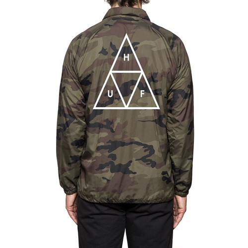 TRIPLE TRIANGLE COACHS JACKET CAMO