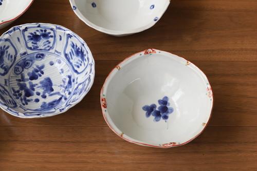 松尾貞一郎 変形取り鉢 020820-K8 貞土窯(有田焼)直径約14cmのお鍋の取り鉢にちょうど良いサイズの鉢