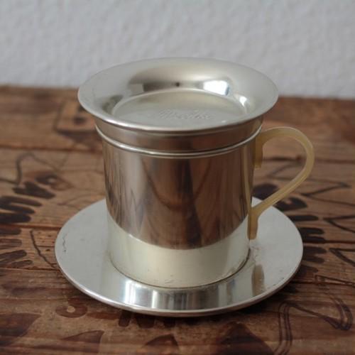 ヴィンテージ メリタ アルミのカップ型コーヒードリッパー