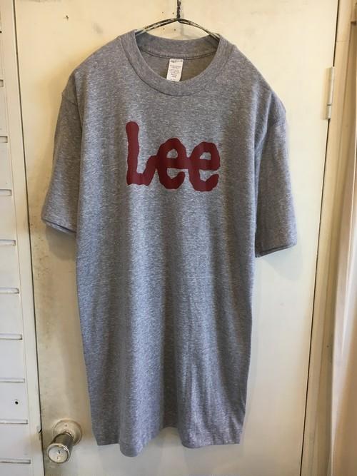 "80s ""Lee"" logo printed  t-shirts"