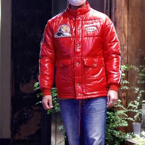 1970s BELL APPAREL Nylon Racing Jacket / Near Deadstock !! / ベル レーシングジャケット