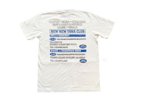 NEW NEW YORK CLUB / Advertising T-Shirt