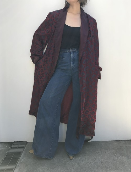 Vintage wine red robe (ヴィンテージ ワインレッド ローブ)