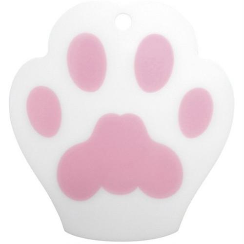 猫まな板(肉球カッティングボードホワイト)