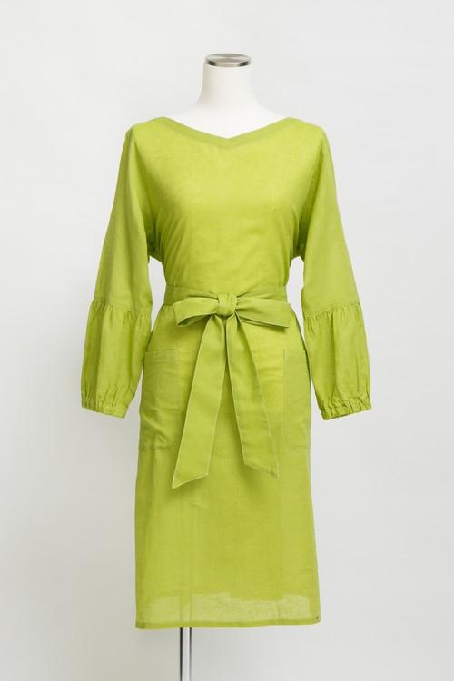 KAREN-COTTON&LINEN-/Green(TT1917-32)
