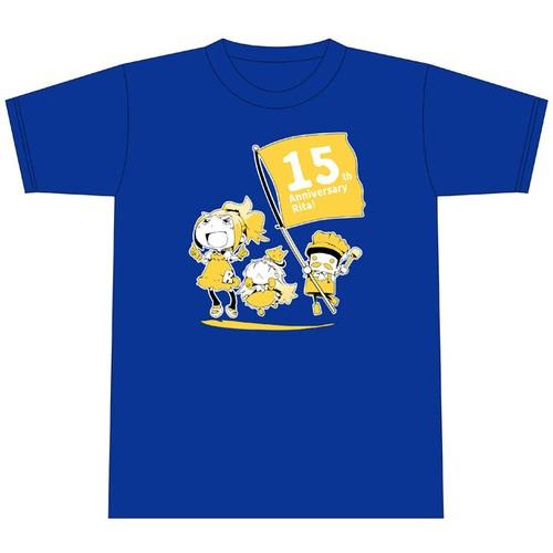 Rita meets 10mile! Collaboration T-shirt(ロイヤルブルー)
