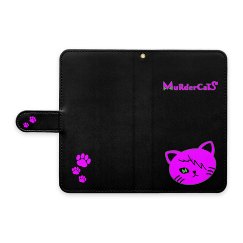 MuRderCaTs 手帳型Androidケースver.2
