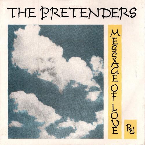【7inch・英盤】Pretenders  /  Message Of Love