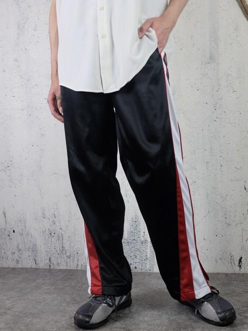 three tone track pants