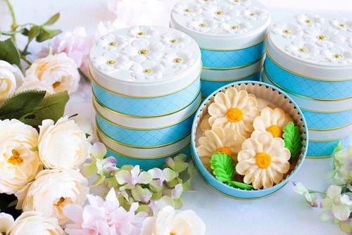 【送料無料✿マーガレット】お花のぼうろ<20缶セット>