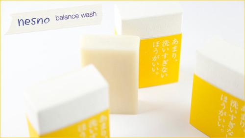 無添加 ネスノ バランスウォッシュ <石ケン> ミネラルバランス水配合