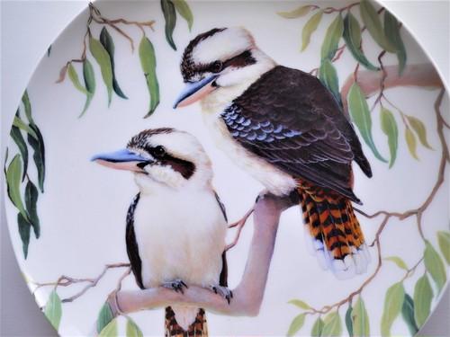 Kookaburra プレート20㎝ ワライカワセミ Maxwell & Williams Cashmere