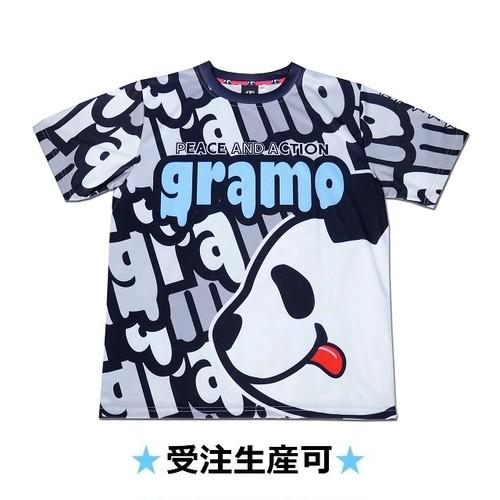 プラクティスシャツ「lick」(グレー/P-050)☆受注生産可☆