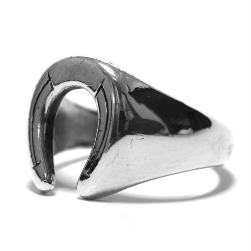 Vintage Avon Sterling Silver Horse Shoe Ring