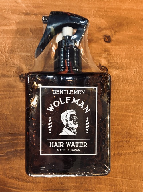 【WOLFMAN × GLAD HAND】HAIR WATER
