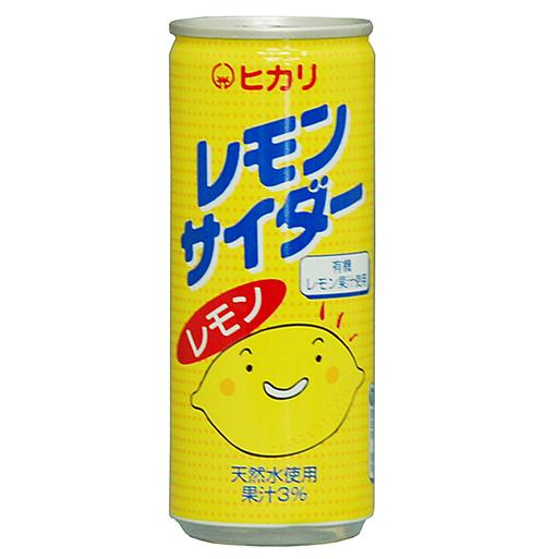 光食品 レモンサイダー 250ml