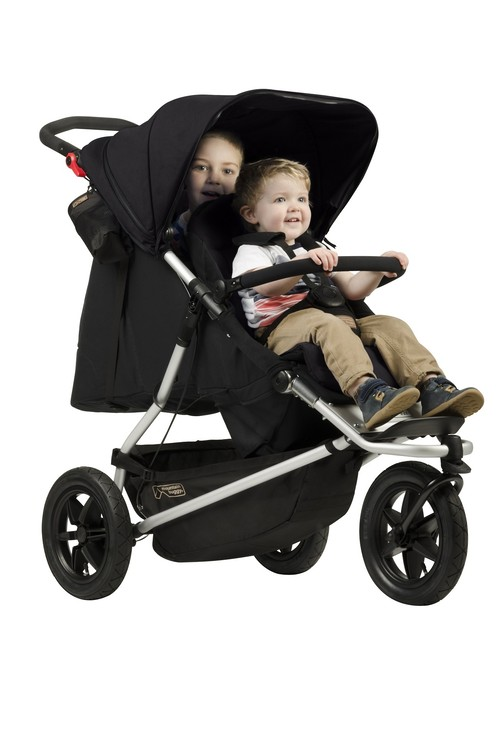 mountain buggy +one buggy Black マウンテンバギー プラスワン