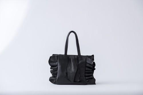 HIDA: tote bag-M. black