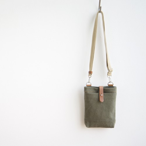 CANVAS CHALK BAG / ARMY