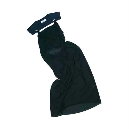 KT18S-DR01 epaulet dress
