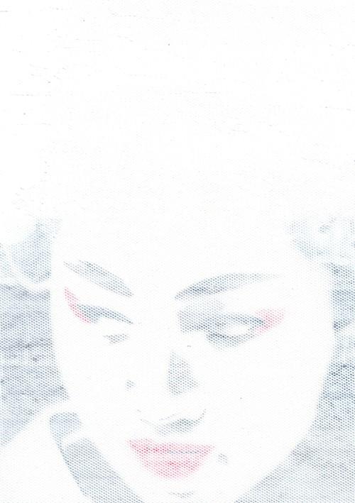 [絵画|Artworks] まちむすめ - white03 -