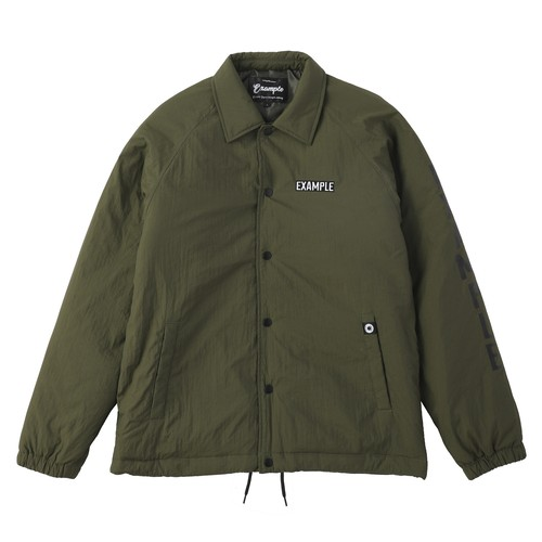 THERMOLITE NYLON COACH JACKET / KHAKI