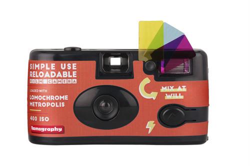 【 レンズ付きフィルム 】Lomography( ロモグラフィー )LomoChrome Metropolis 36枚撮り