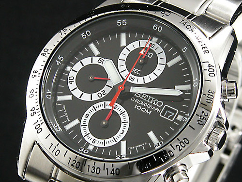 セイコー SEIKO クロノグラフ 腕時計 SND371