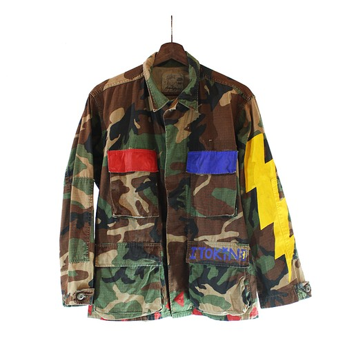 The Sessions Vintage Military Shirt M