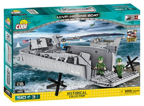 COBI #4813 LCVP ヒギンズ (車両人員揚陸艇) OUTLET