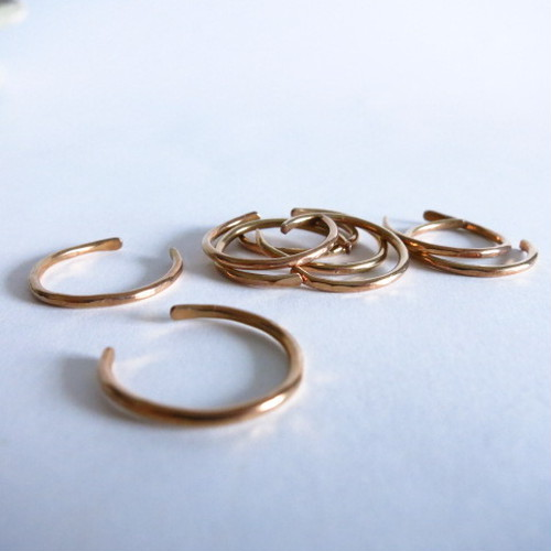 Brass Curve Ring-1