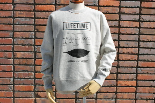 """30%OFF TACOMA FUJI RECORDS / Photosynthesis """"Gardening is Art & Science""""SWEAT designed by Jerry UKAI"""