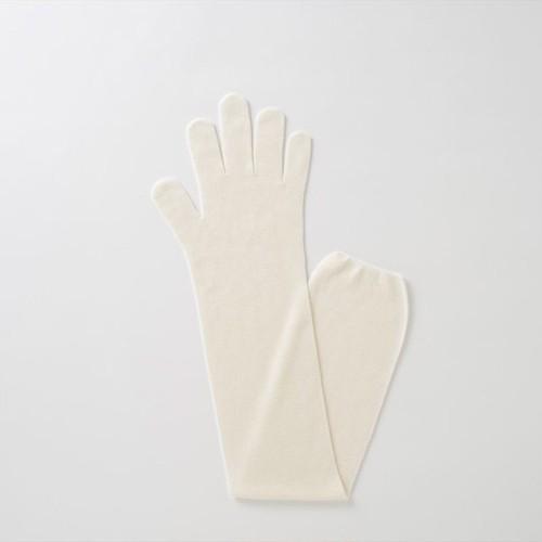 TAKEFU 無縫製ガーゼロング手袋