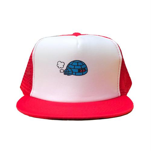 "KIOSCO x ADOOM "" igloo ""meshcap RED"