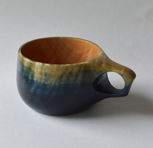 栃 藍染 TOCHI Indigo Dyed CUP -  TA04