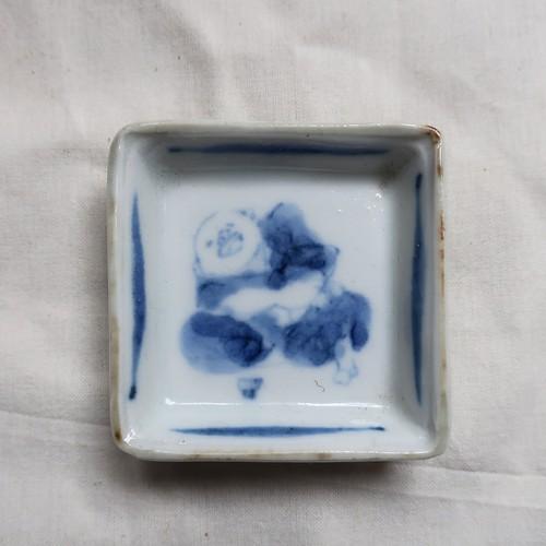 日高直子 角豆皿(染付)