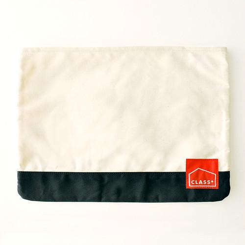 BOOK CASE   ブックケース(生成×黒)パラフィン帆布