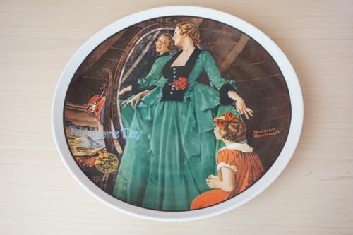 ノーマンロックウェル 絵皿(114-07)