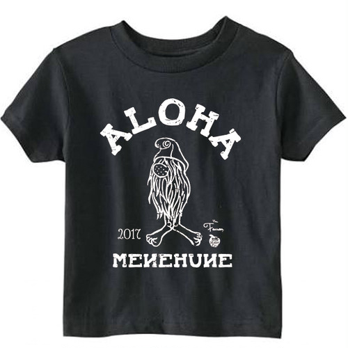 [KID] MENEHUNE TEE NMC x the Fanon SPECIAL EDITION -BLACK-