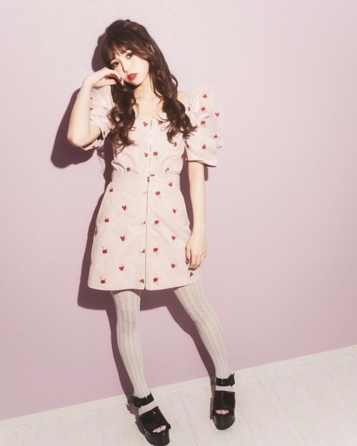 【ManonMimie】Rose Tulle Set-Up / Skirt
