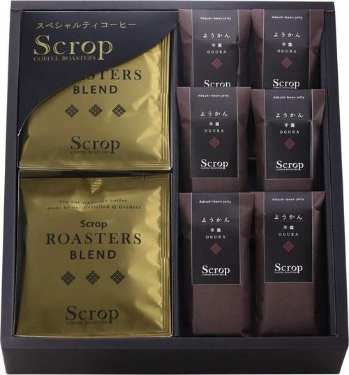 会員限定 ギフトセット ロースターズブレンド ドリップバッグコーヒー10個 Scrop羊羹6個 SG-C9