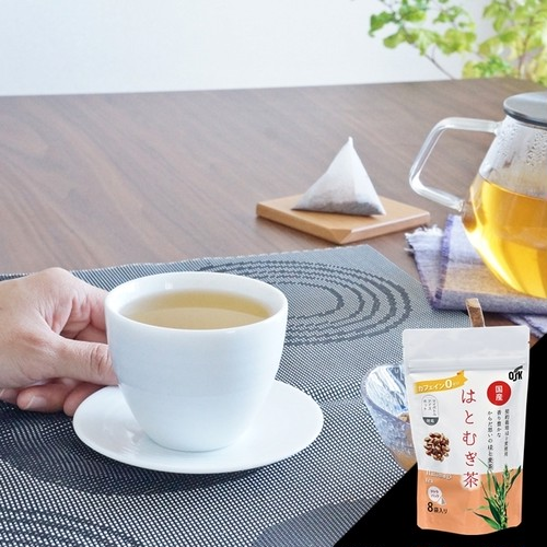 国産 はとむぎ茶 8p【クリポス対応】