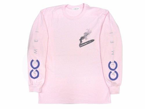 """""""CACUMEI"""" L/S Tee PINK"""