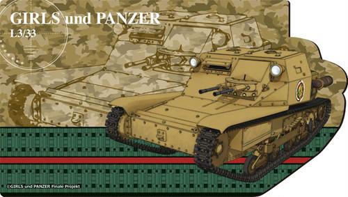 SMRG563_ガールズ&パンツァー デスクで戦車道!CV33型快速戦車(L3/33)