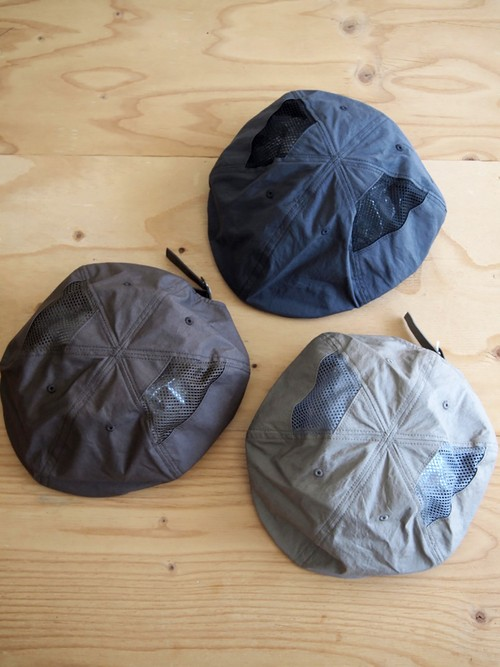 NOROLL, 6PANNEL SIDEMESH CASQUETTE
