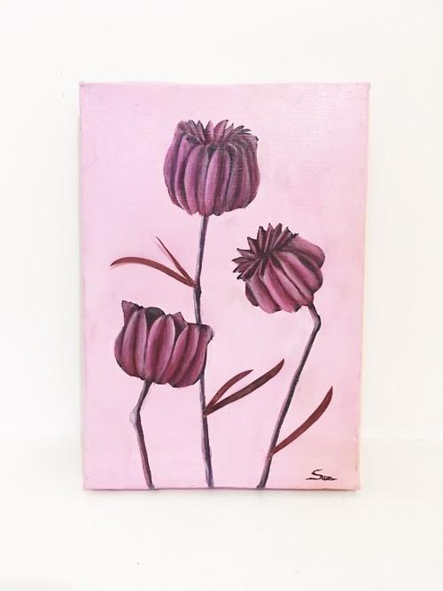 植物B ドライフラワー アート インテリア 絵画 Interior painting